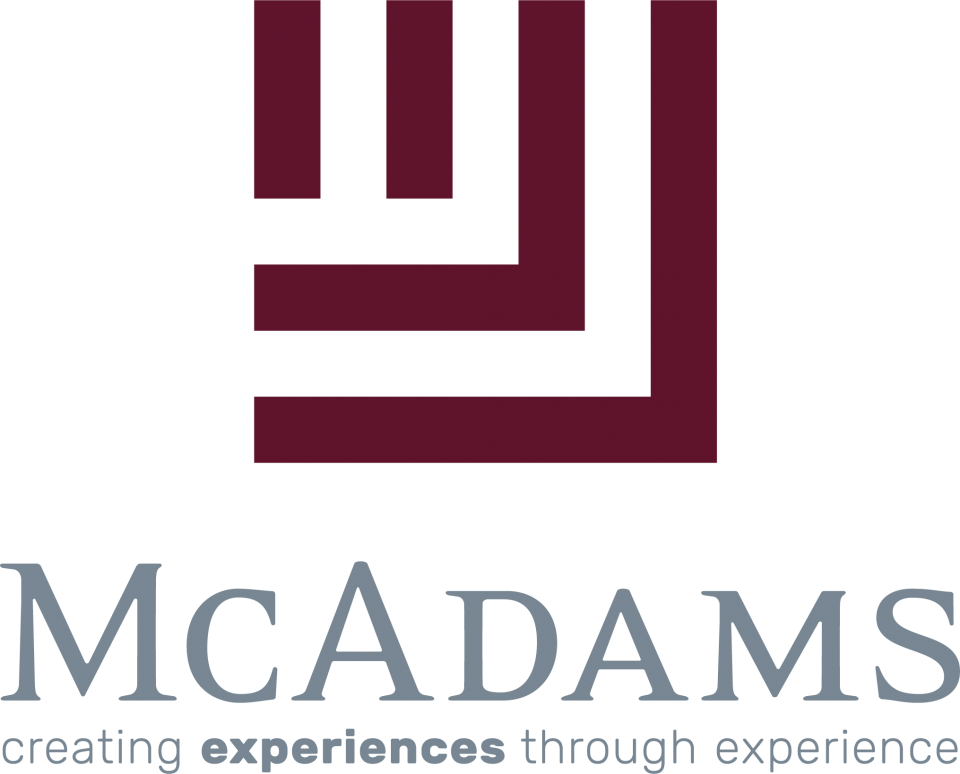 McAdams stacked logo